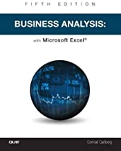 Business Analysis with Microsoft Excel (5th Edition)