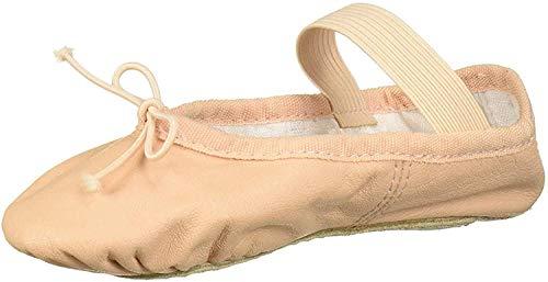 Bloch Dance Girl's Dansoft Full Sole Leather Ballet Slipper/Shoe, Pink, 13 Little Kid