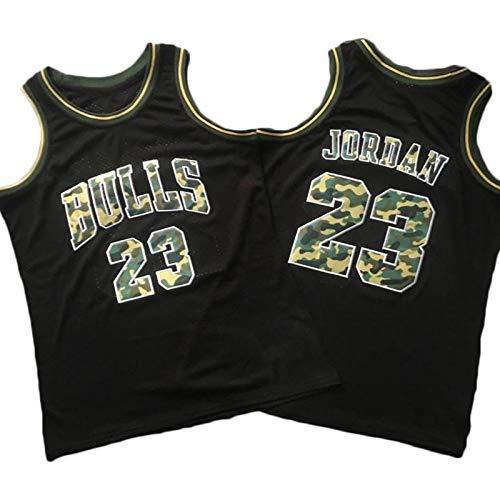 GLACX Jerseys de Baloncesto para Hombres, NBA Chicago Bulls 23# Jordania (8 Estilo) Uniformes de Baloncesto Retro Verano Al Aire Libre Vestidos Deportivos Vestidos Tops Camisetas,B,M
