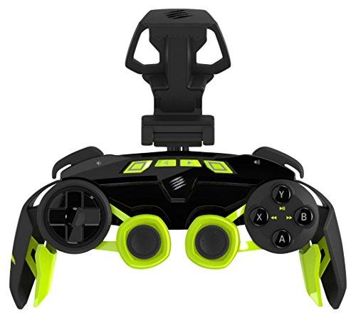 Mad Catz L.Y.N.X.3 Wireless Controller geeignet für Android and Windows, schwarz-grün
