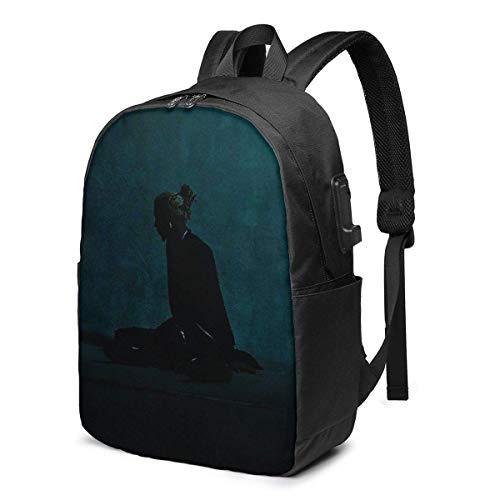 IUBBKI Bolsa para computadora mochila USB Playboi Carti Whole Lotta Red Business Travel College Commuter Slim Durable Laptops Usb Backpack