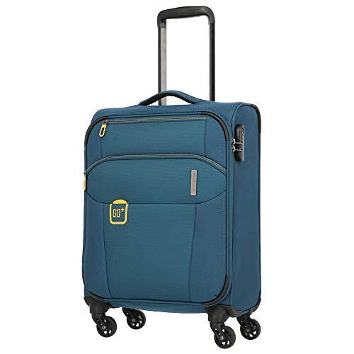 Travelite Go 4 Wheels Cabin Trolley 55 cm - Green - S