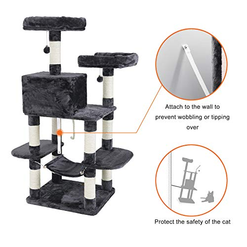 FEANDREA Multi-Level Cat Tree for Big Cats