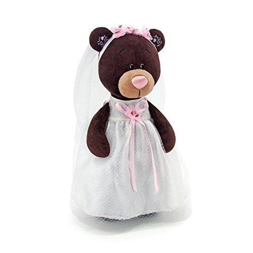 Orange Toys m5041/30 – Milk la fiancée, Doudou pour Adultes et Enfants dans Un Emballage Cadeau Marron/Blanc