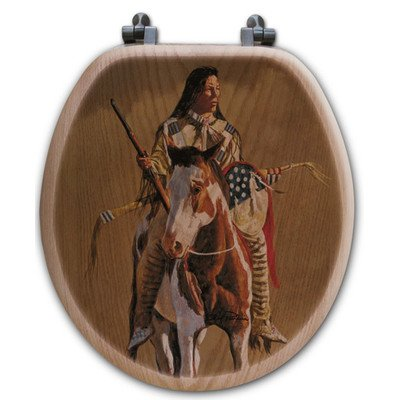 wgi Galerie ts-r-gotp Ghost of The Plains Runder WC-Sitz