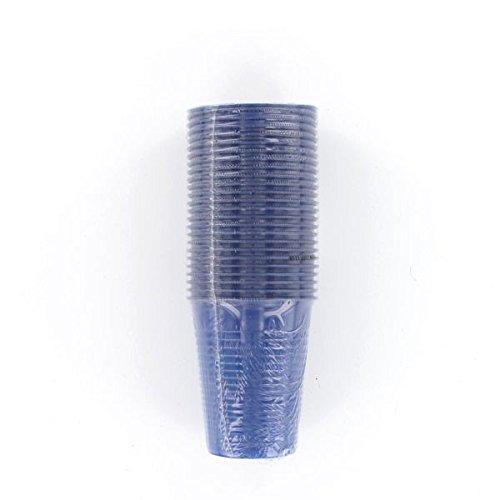 Générique 125 GOBELETS Plastiques RÉUTILSABLES 20CL Bleu Marine