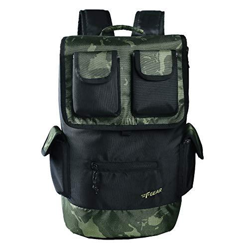 F Gear 32 Ltrs Cyrus Erdl O Green Digital Camo Laptop Backpack (3313)
