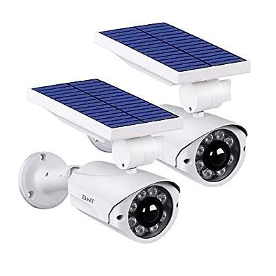 Solar Motion Sensor Light?BNT Flood Light Security Super Bright LED Outdoor Light with 800Lm Waterproof Solar Power Charging Motion Sensor Lights