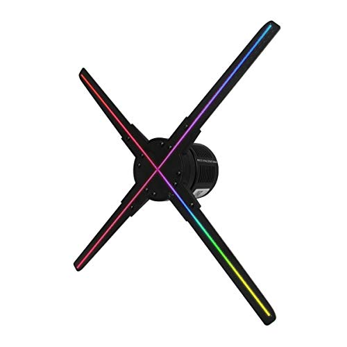 Xpectway Ventilador 3D WiFi Holográfico XP-50X - Se Controla con la App de su Teléfono – Impactantes Fotos y Videos 3D – Uso Ideal en Restaurantes,Avisos Bares y Tiendas - 50cm