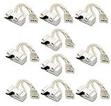 XPARTCO (10 Pack) 3406107 Dryer Door Switch AP6008561, PS346704, WP3406107, 3405100