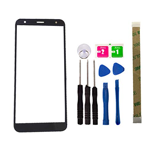 Replacement Repair Front Outer Top Glass Lens Cover Screen for LG K40 / X4 2019 / K12+ K12 Plus LM-X420EM 5.7' Mobile Phone Parts (NO LCD and Touch Digitizer)