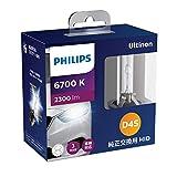 フィリップス ヘッドライト HID D4S 6700K 2300lm 42V 35W アルティノン 純正交換用 フラッシュスター 車検対応 3年保証 PHILIPS Ultinon 42402FSJ