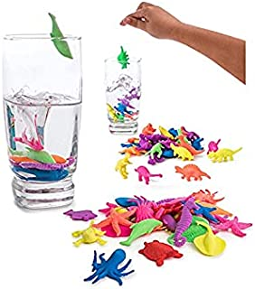 Birthday Popper Dinosaur Grow in Water Toy - Set of 20 Birthday Return Gift/Pinata Filler/ for Kids of All Age Group