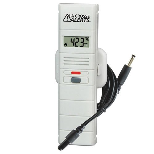 La Crosse Alerts Mobile 926-25001-GP Wireless Monitor Add-On Sensor Only with Dry Probe for existing La Crosse Alerts Mobile system