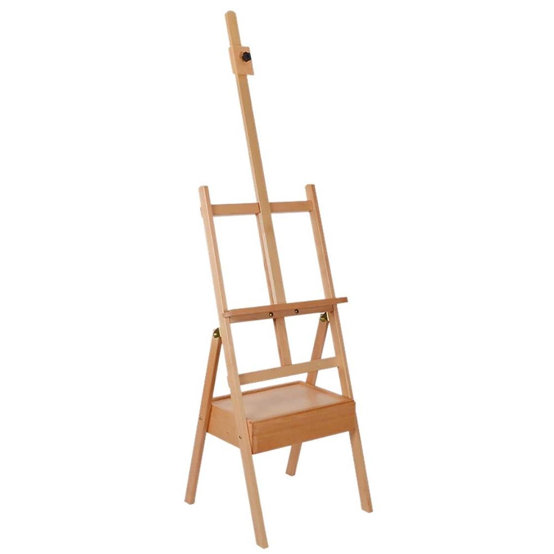 過度にキャップ絶縁するイーゼル 木のイーゼルの三脚のスタジオの愛好家の高さ調節可能、絵画、表示および設計のための分野のイーゼル