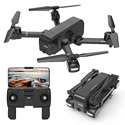 HEYGELO Z5 GPS RC Drones with 2K FHD Camera for Adults and Teen, Foldable FPV Drone with Auto Return Home, Follow Me, Altitude Hold, Tap Fly Functions for Beginners and Photography Enthusiasts.