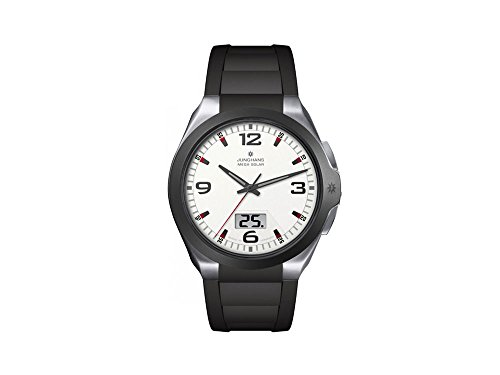 Junghans Herrenuhr Metallband analog-digital Quarzwerk Titan 018/1424.00