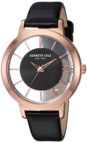 Kenneth Cole New York Women's Quartz Stainless Steel Casual Watch, Color:Rose Gold-Toned (Model: KC15172002)