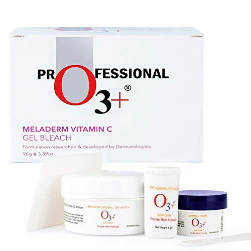 O3+ Meladerm Vitamin C Gel Bleach for Skin Whitening and Hair Lightening (96g)