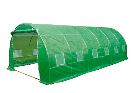 6m x 3m Polytunnel Greenhouse