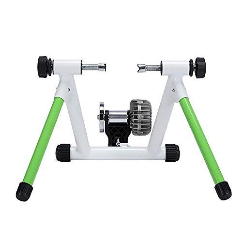 Rodillo de Entrenamiento de Bicicleta de Carretera Resistencia Power Liquid Plataforma Riding Soporta 3D Juego de equitación Entrenando Inicio Bicicletas Trainer (Color : White, Size : One Size)