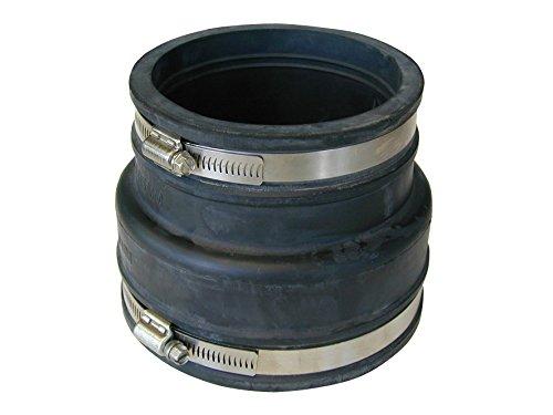 Rohrverbinder Übergangsstück 100-115 auf 110-125 Reduziermuffe Flexmuffe 316789