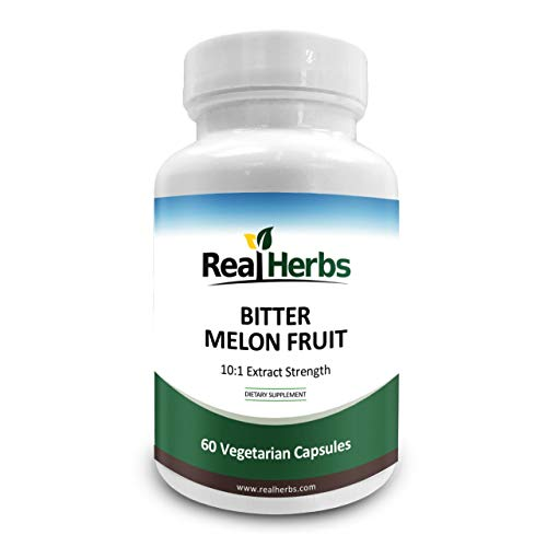 Real Herbs bitter melon extract capsules