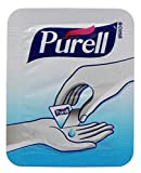 Purell Advanced Hand Sanitizer Singles - Travel Size Single Use Individual Portable Packets (25 Pack)