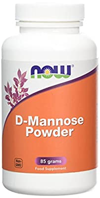 Now Foods D-Mannose Powder Supplement, 85 g