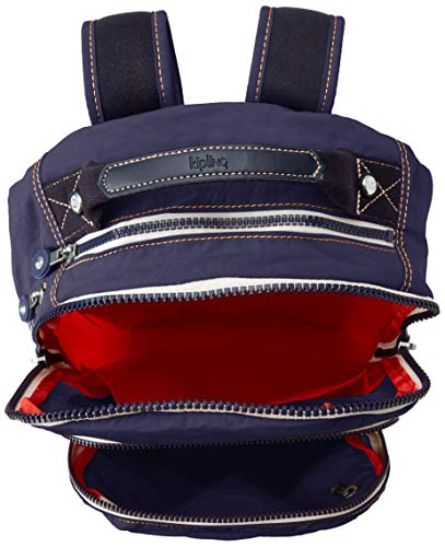 41o8TsmoGkL - Kipling CLAS SEOUL Mochila escolar, 45 cm, 25 liters, Azul (Active Blue Bl)
