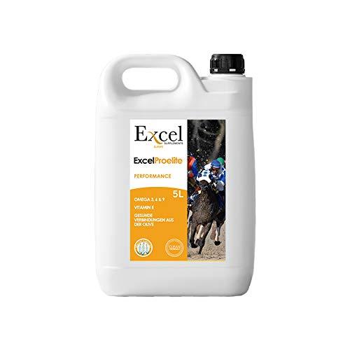 Excel Supplements Europe ExcelProElite 5 litros| Aceite para Caballos| antiinflamatorio| antioxidantes| antiinflamatorio Natural| Desarollo Muscular (5)
