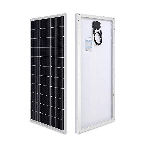 Renogy Module photovoltaïque photovoltaïque 12 V pour Charger la Batterie 12 V dans Le Camping-Car, Caravane, Bateau ou Yacht 100D-SS
