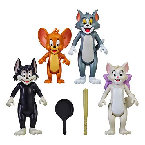 "Tom & Jerry 3"""" Figure - Four Pack, Multicolor"