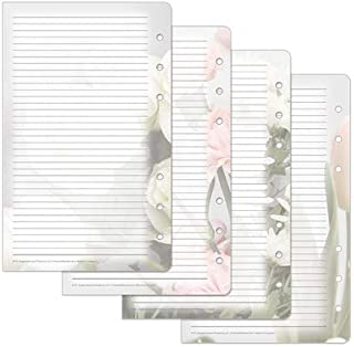 Compact Blooms Lined Pages - Pink/Green