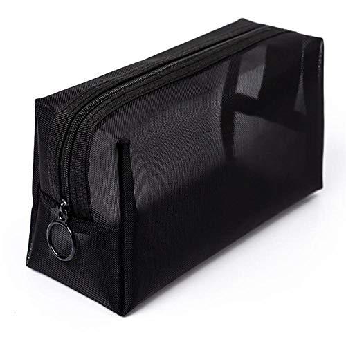 Bagage à main portable grande capacité sac cosmétique pour stocker des cosmétiques ou des produits de soins personnels-noir