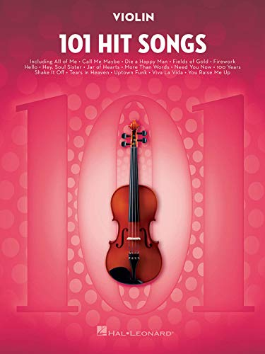 101 Hit Songs: for Violin