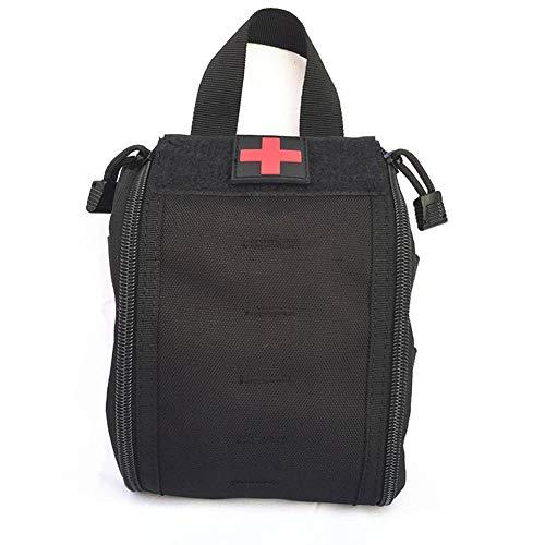 Motto.H Primeros Auxilios Bolsa médica Primeros Auxilios Auxiliar Kit de Supervivencia de...