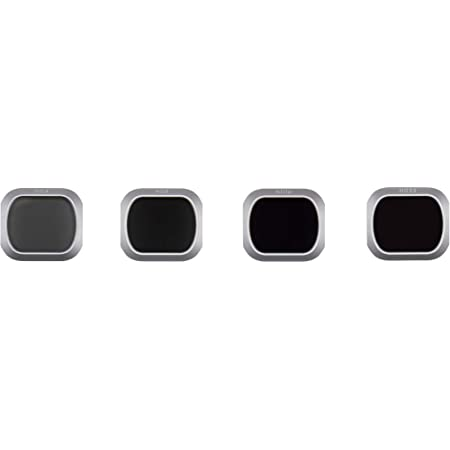 DJI Mavic 2 Pro - Filter Set (ND4, ND8, ND16 and ND32 Filters), ND Filter Prevents Photos from Being Overexposed, Real Color Photos, Light, Precise Mechanical Design