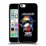 Head Case Designs sous Licence Officielle Star Trek 35e Anniversaire Voyage Verso CASA Coque en Gel Doux Compatible avec Apple iPhone 5c