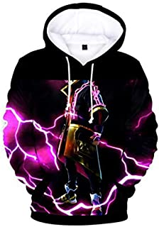 Game Fortnite 3D printing Hoodie Sweatshirt long sleeve fashion coat for Unisex MU L