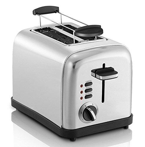 Exido 12240004 Sandwich Design Maker Sandwichmaker Doppel Sandwichtoaster 700 Watt Zubereitung in 2-3 Minuten Automatische Temperaturregulierung 2 antihaftbeschichtete Heizflächen Edelstahl