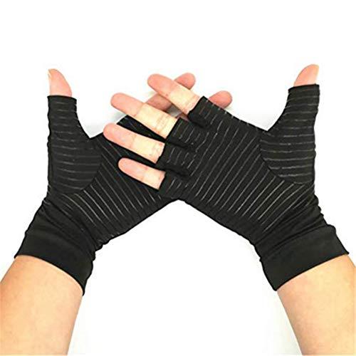 biteri Arthritis Handschuhe Rheumatische Arthritis Kompressionshandschuhe für Schmerzlinderung, Gaming Tippen, Fingerlose Voller Finger Handschuhe für Männer Frauen