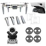 Linghuang Kit de Accesorios para dji Mavic Mini Soporte de Hélice + Tren de Aterrizaje + Protector de Pantalla + Motor de Campana Accesorios de Protección para Drones (Negro)
