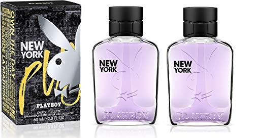 Playboy New York Edt Uomo - 60 ml 2 pezzi