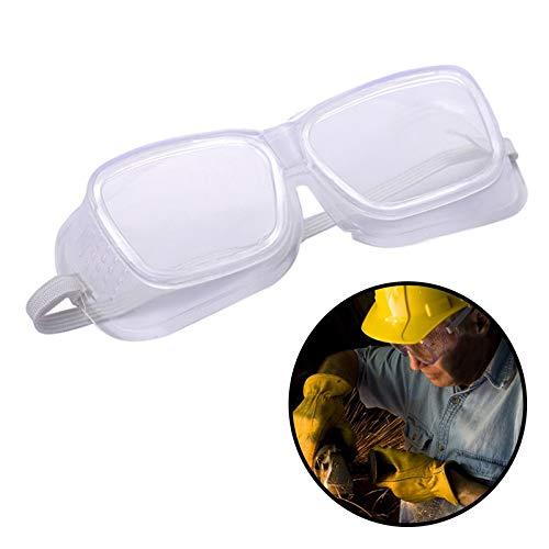 Metermall Home Veiligheidsbril Geventileerde bril Oogbescherming Beschermend laboratorium Anti-mist Stof Doorzichtig voor industrieel laboratoriumwerk Zachte randbril