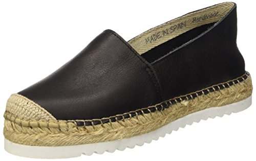 I love candies ILC Damen Espadrilles, Schwarz (Black LD 009), 40