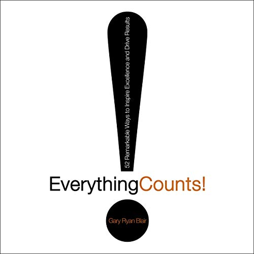 Everything Counts audiobook cover art