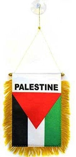 Palästina Flagge–Auto Fahne Fenster Pennant