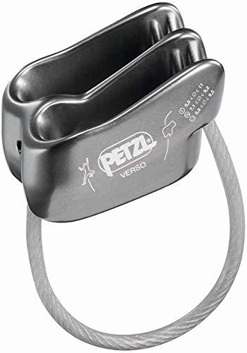 PETZL Verso Lightweight Belay/Rappel Device, Gray