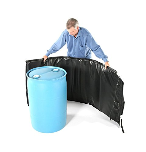Fantastic Deal! Powerblanket BH55RR-80 Industrial Grade/Weather Resistant D-15 Vinyl Shell 55 gal In...